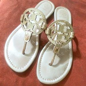 ✨Metallic Millers✨Tory Burch Miller Sandals